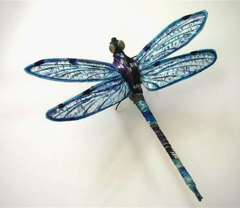 Dragonfly Blue | Art by Joy A. Kirkwood