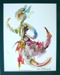 Starfish Dancer watercolour
