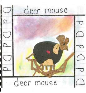 AF book project deer mouse