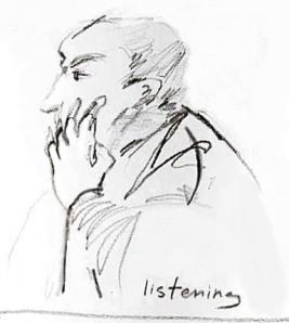 Listening at heart