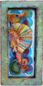 PoMo Kaleidoscope - Seahorse