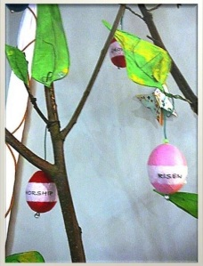 Easter Tree closeup