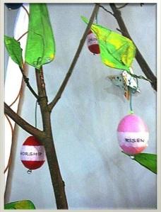 Easter Tree closeup
