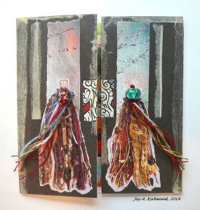 Triptych collage by Joy K.- closed