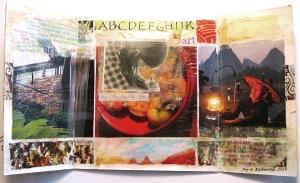 Triptych Collage by Joy K.- open