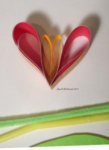 4 valentine flower
