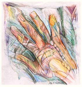 hand drawing by Joy
